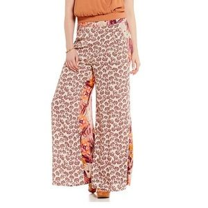 Free People In the Mix Flowy printed pants XS